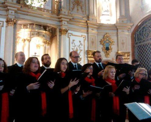 """""""CORO SANTA CECILIA"""" del Conservatorio Profesional de Música Manuel Carra de Málaga"""