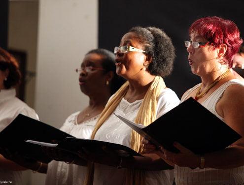 Petit chœur polyphonique d'Amazonie (Sud America)