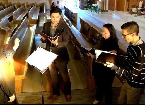COSJ SCHOLA SINGS South San Francisco, California, Stati Uniti d'America
