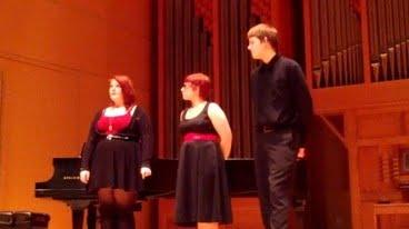 School choir students Selah, Washington state