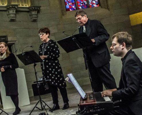 """ENSEMBLE CANTICO"" Coburg (Germania) Gisela Maria Paul Sopran, Erika Kreuzer Mezzosopran, Wilfried Paul Bassbariton"