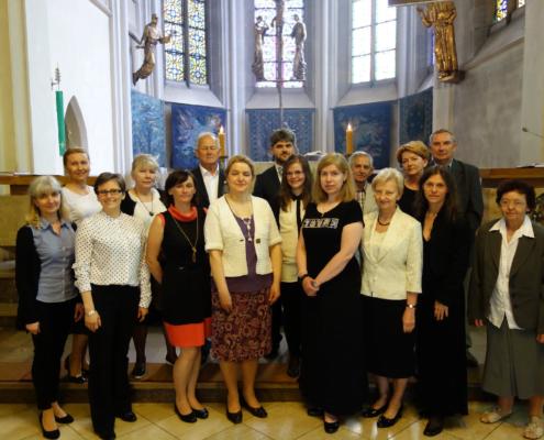 Chór Kościoła Mariackiego w Katowicach (Polonia)