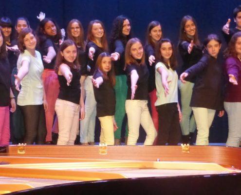 """SKOLA CORO JUVENIL"" de la Escuela Municipal de Música de Barbastro (Huesca)"