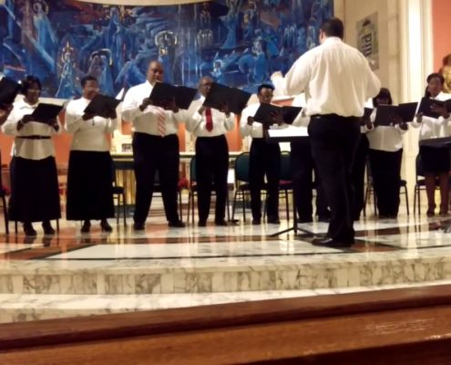"""""""CHOIR ST. MARY'S CATHEDRAL"""" - Miami (Florida)"""