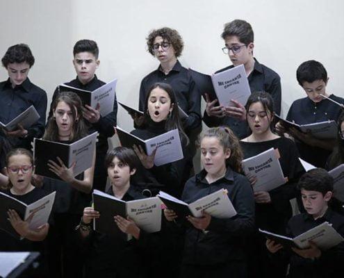 """""""CORO SÍNCOPA"""" Conservatorio Profesional de Música de Salamanca (Spagna)"""