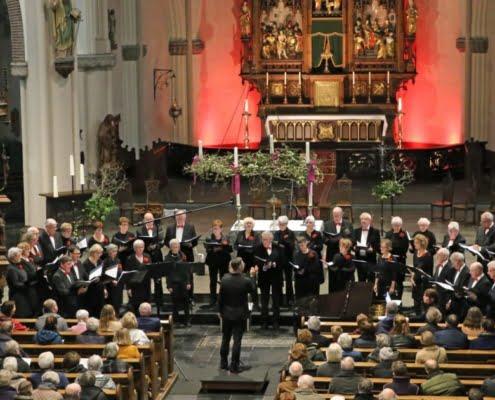 Sfeervol kerstconcert Roois Gemengd Koor Sint-Oedenrode - Olanda