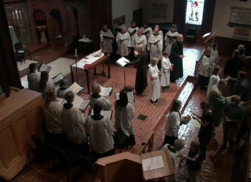 "Coro di Cappella di ""SAINT JAMES EPISCOPAL CHURCH"" Lancaster - Pennsylvania"
