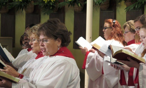 "CORO DI CAPPELLA ""SAINTS EPISCOPAL CHURCH"" Ft. Lauderdale, Florida"