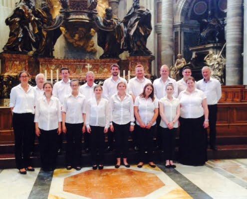 Coro di Cappella di St Chad's Cathedral Birmingham - Inghilterra